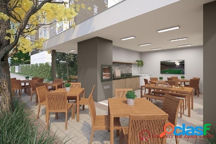 Apartamento 2 dorms, 37m², com vaga, com varanda - Belém 2