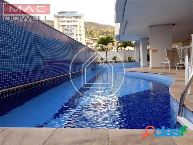 Venda - apartamento de 65 m² - santa rosa - niterói/rj