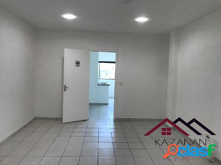 Sala comercial 80 m² vila mathias santos sp