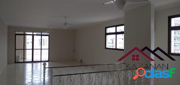 Cobertura 4 dormitórios 1 suíte campo grande santos sp