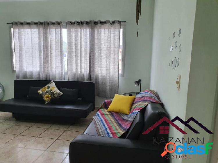 Apartamento mobiliado de 1 dormitorios -guarujá
