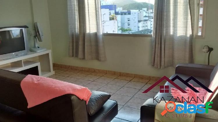 Apartamento mobiliado temporada de 1 dormitorios -guarujá