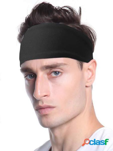 Masculino running basquete aptidão sports elastic headband