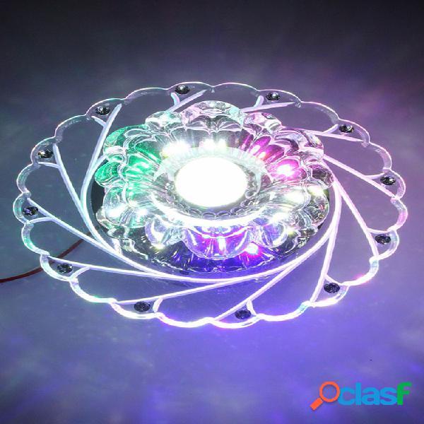 3 w modern crystal ceiling azul light superior lâmpada iluminação lustre de moda sala de estar início dez