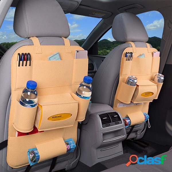 Bolsa multifuncional de armazenamento de carro bolsa de transporte bolsa de suspensão de nonwovens