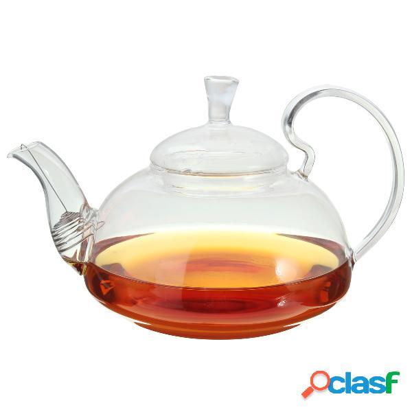 Resistente ao calor elegante vaso de vidro infuser flower / green tea pot 750ml tamanho coffee pot bar accessory
