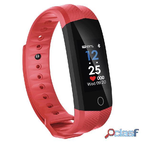 Relógio de ritmo cardíaco contínuo bracelet fitness relógios para homens ios android smart watch