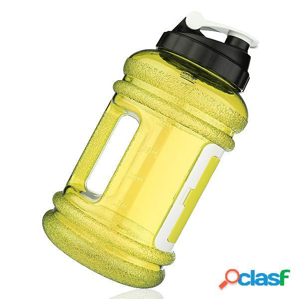 2.2l big large bpa free sport gym training beber garrafa de água com estojo de armazenamento