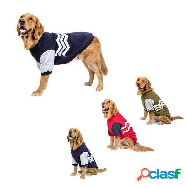 Moda confortável grande dog dog roupas de algodão no inverno big dog clothes sweater inverno