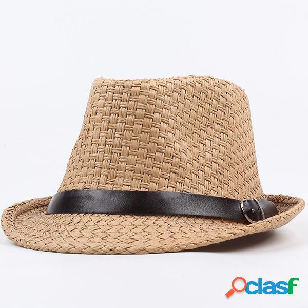 Homens mulheres vintage cowboy chapéu férias praia sol chapéu viseira de pesca ao ar livre chapéus
