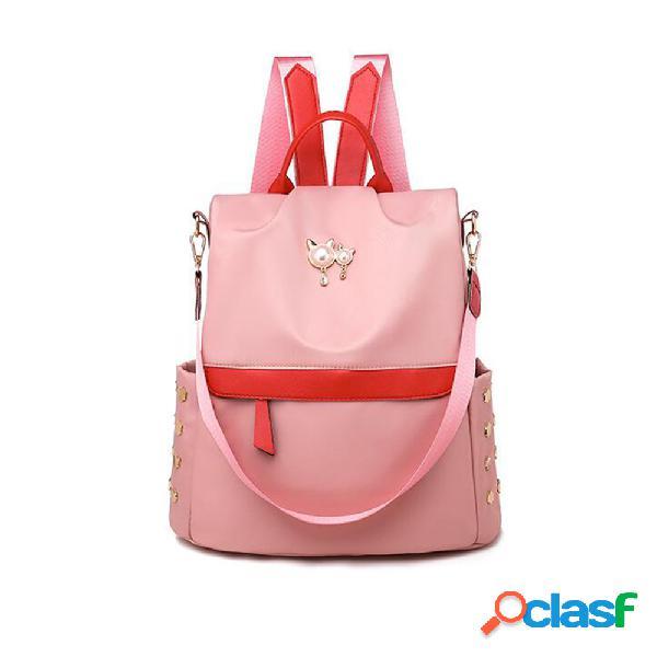 Mochila feminina bolsa de viagem mochila escolar ombro bolsa