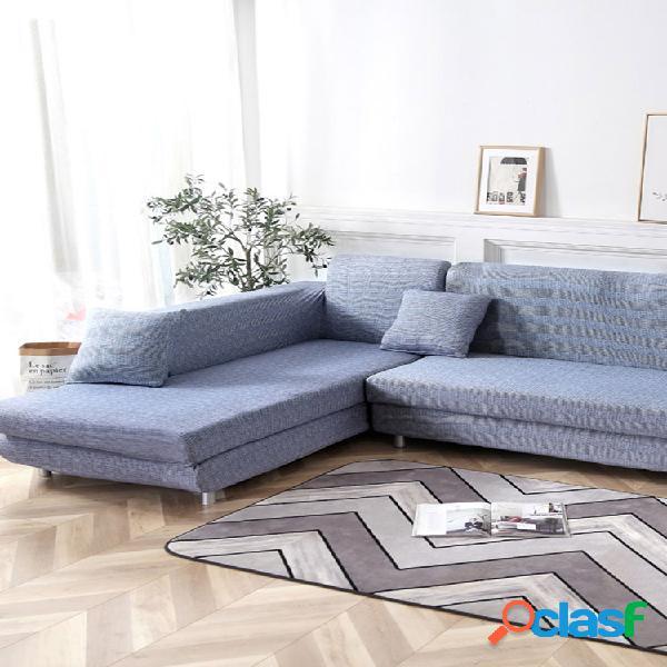Kcasa 1/2/3/4 capas de assento elástico para sofá capas para poltrona capas para cadeiras para sala de estar