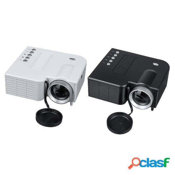 Bakeey hd led projetor mini cinema em casa hdmi usb vga av beamer systems media player