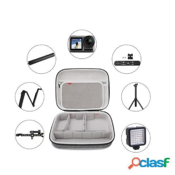 Câmera multifuncional bolsa armazenamento de acessórios da câmera bolsa suporte de armazenamento de cabo de dados bolsa
