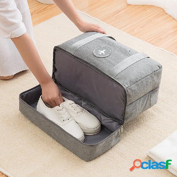 Separação seca e úmida de viagem bolsa aptidão bolsa armazenamento de roupas catiônicas bolsa esportes portáteis bolsa