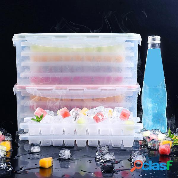 Gelo multicamada cube fabricante de bandeja de gelo para ferramentas de cozinha doméstica