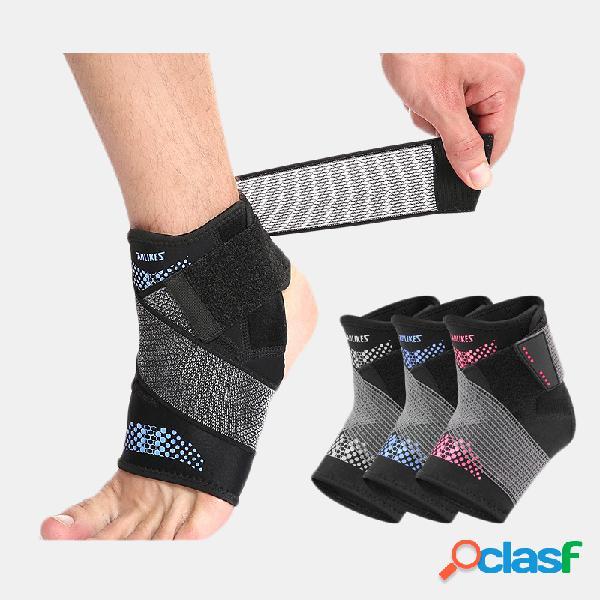 Cintas de proteção para tornozelo esportivo confortável pressurização respirável ferramenta de proteção para entorse no tornozelo