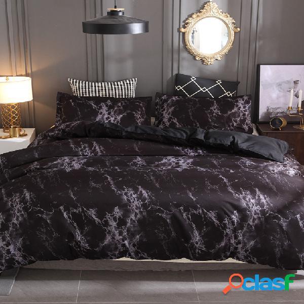 Têxteis domésticos conjunto de três peças cama conjunto travesseiro colcha sem lençol