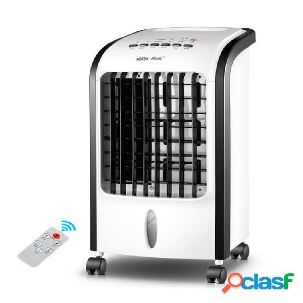 Condicionador de ar portátil 220v, ventilador, umidificador refrigerador com controle remoto 3 velocidades de vento