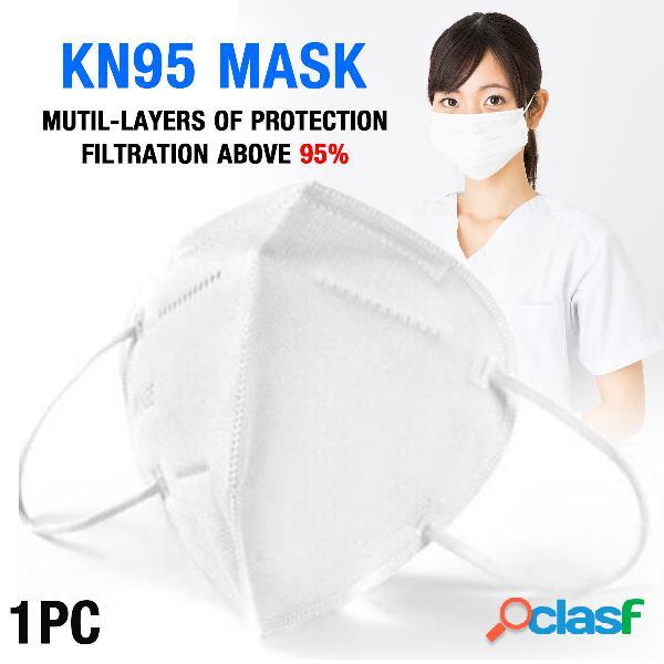 Máscaras kn95 com válvula de respiração aprovada no teste pm2.5 da máscara de proteção gb-2626-kn95