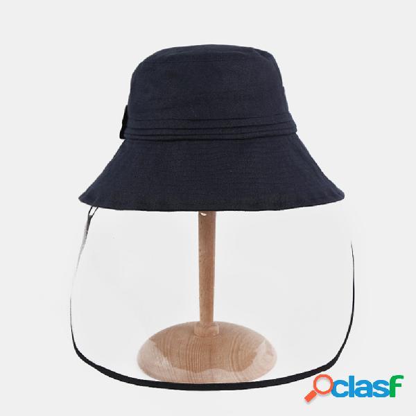 Protetor solar anti-embaçante sun chapéu fisherman chapéu viseira solar
