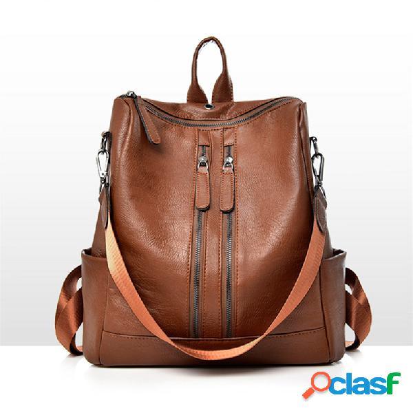 Mochila feminina de viagem anti-roubo bolsa escolar ombro bolsa