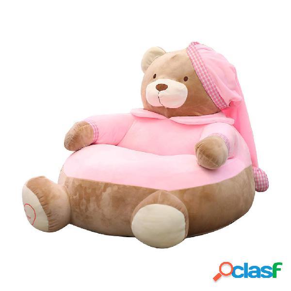 Cadeiras para cadeiras de sofá relaxantes para crianças, almofadas preguiçosas de feijão bolsa para móveis de bebê para casa