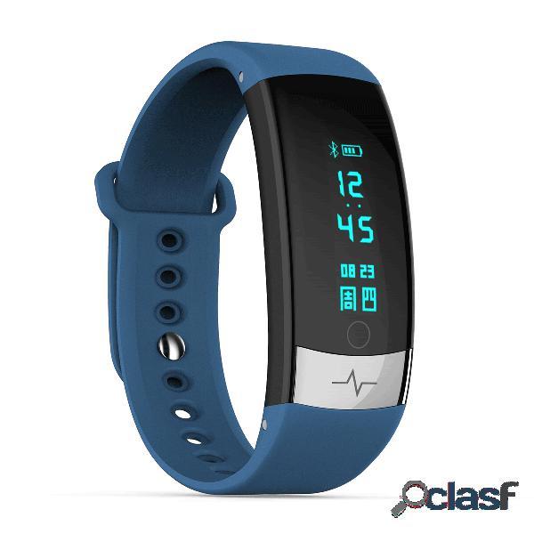 Esporte estilo relógio inteligente monitor de freqüência cardíaca respiração mensagem de treinamento lembrar relógio despertador relógio inteligente