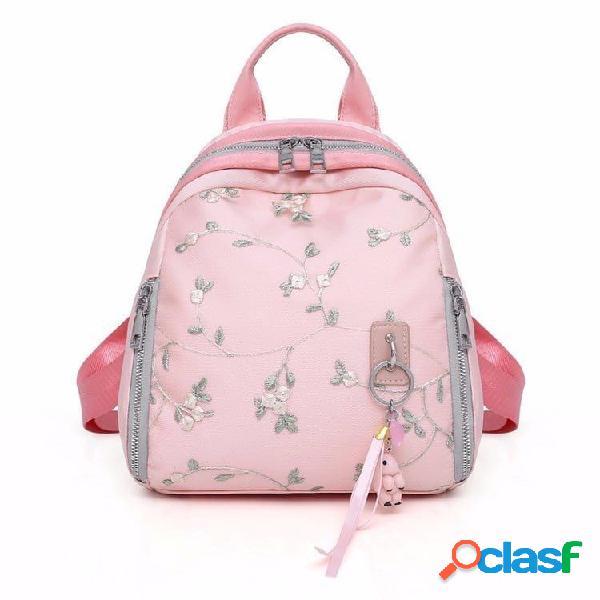 Mulheres de grande capacidade adorável parcel mini backpack