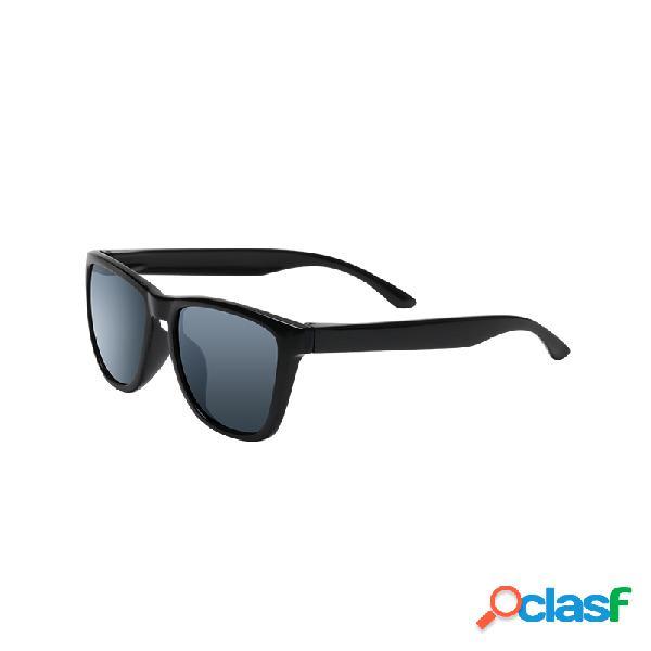Original xiaomi mijia classic quadrados sunglasses selfrepairing tac polarização lense não scew sunglasse