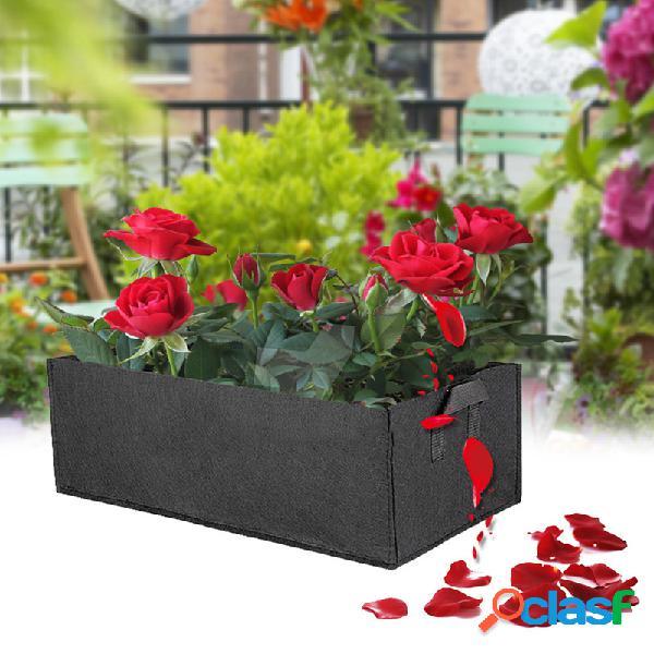 Sacos de mudas saco de plantio não tecido flores e plantas