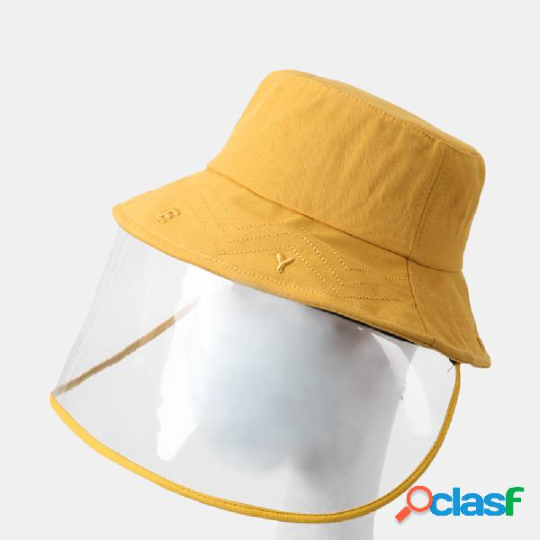 Sol ajustável chapéu da collrown com pala de sol removível anti-fog grande beirado