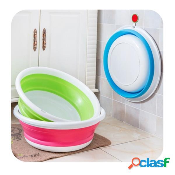 Bacia paterna portátil criativa lavagem de viagem ao ar livre lavagem
