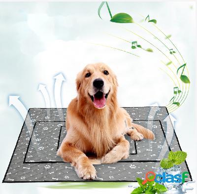 Refrigeração de verão pet mat mat antiderrapante cachorro cat mat cooling pet mat