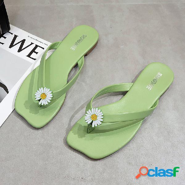 Chinelo de chinelo de flip-flops para mulheres bonitas de verão