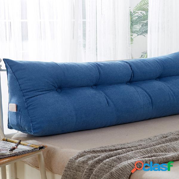 almofada triangular cunha multi-color almofada de cabeceira almofada cama encosto apoio de posicionamento almofada almofada de leitura almofada lombar de escritório soft