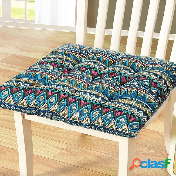 Tapete de assento macio de conforto interno almofadas de assento de cadeira ao ar livre jardim home office almofadas de almofada de parque tiras antiderrapantes
