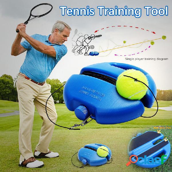 Instrutor de tênis auto-estudo ferramenta de treinamento de tênis rebound ball baseboard sparring device