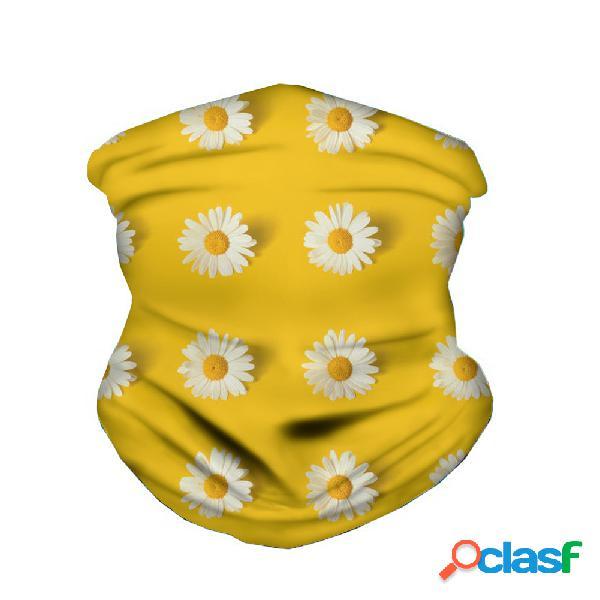 Protetor solar máscara de secagem rápida turbante leve e respirável anti-uv impresso máscara à prova de poeira