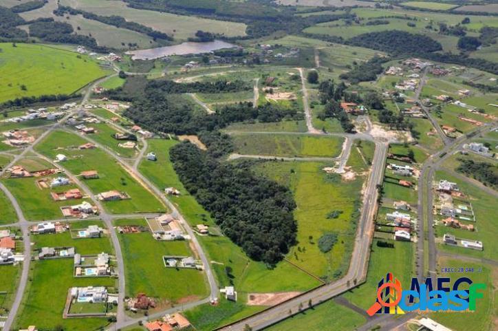 Terreno condomínio village ipanema - araçoiaba da serra - sp