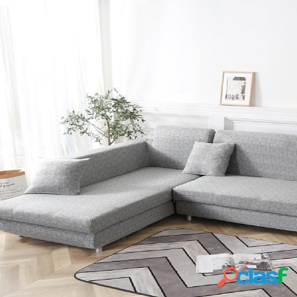 Kcasa 1/2/3/4 capa de assento elástica para sofá capa capa de poltrona para cozinha de sala de estar