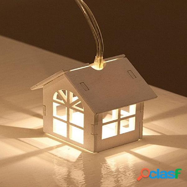 3m 20 lâmpada led luzes de fadas luz branca quente corda pequena lâmpada led lâmpada decoração de casa festa de casamento