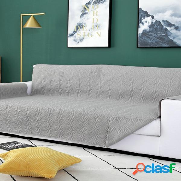 Capa para sofá de 1/2/3/4 assento para tapete infantil capas para móveis protetor reversível e lavável e removível capa para braço
