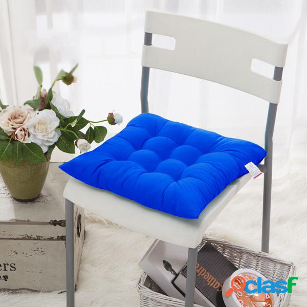 Almofada de assento de vime para pátio externo tropical antiderrapante de 15,7 * 15,7 polegadas multicor