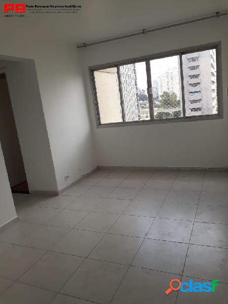 Apartamento de 2 dormitórios, 1 vaga no brooklin