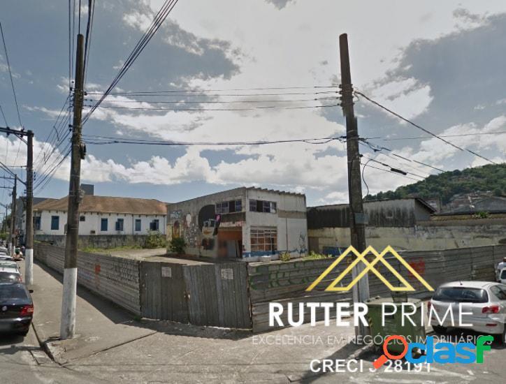 Excelente terreno em Paquetá, Santos - Venda comercial ou residencial