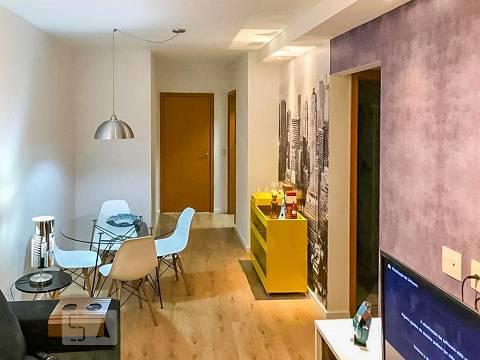 Apartamento para aluguel - centro, 2 quartos, 60 - santo