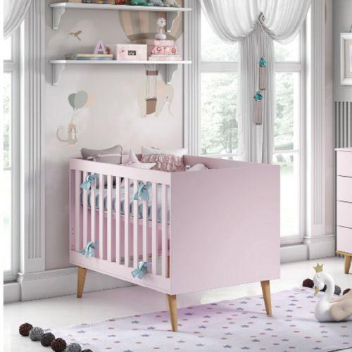 Ber/u00e7o mini cama ludmila carolina baby rosa