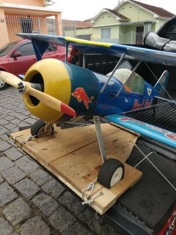 Biplano pitts rc motor 3w 55 (gasolina)