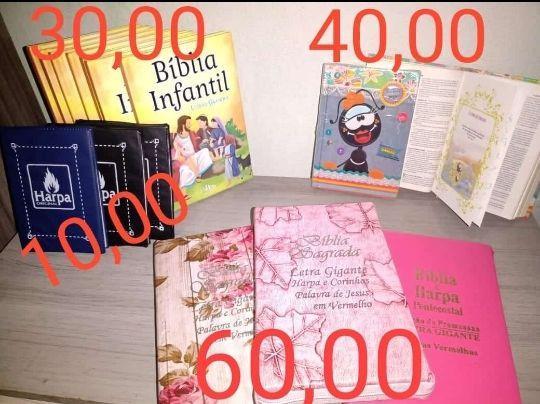 Promoção de bíblias (60,00)(40,00)(30,00)(10,00)